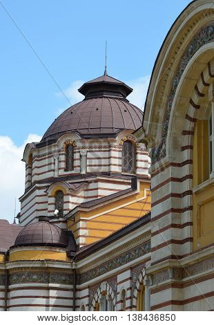Sofia Central Mineral Baths House Exterior Architecture