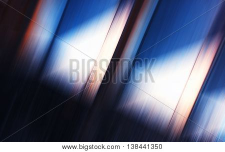 Horizontal Diagonal Motion Blur Abstract Background Backdrop