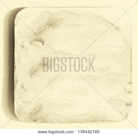 Blank vintage cardboard coaster backdrop hd 3