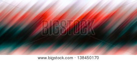 Diagonal black and red motion blur abstraction backdrop