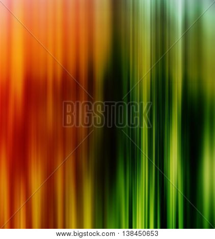 Vertical vivid orange green lines business presentation background backdrop