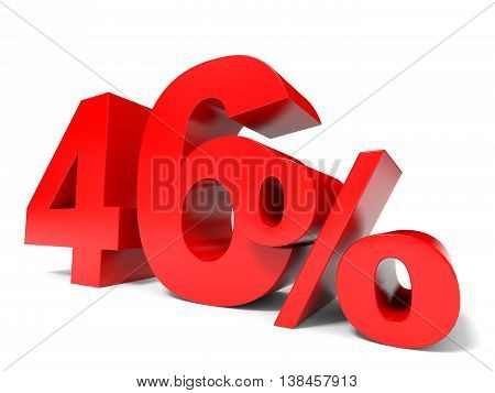 Red Forty Six Percent Off. Discount 46%.