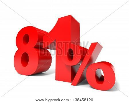 Red Eighty One Percent Off. Discount 81%.