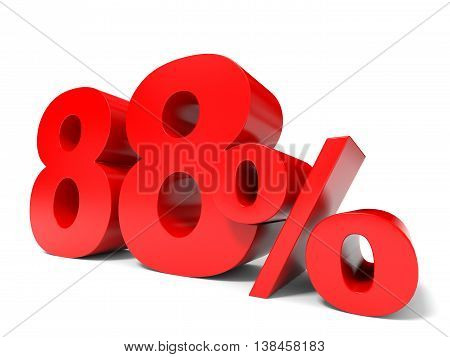 Red Eighty Eight Percent Off. Discount 88%.