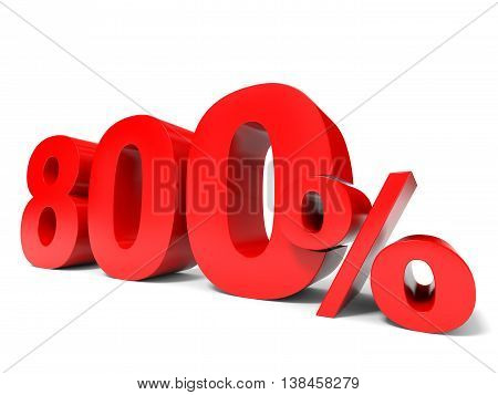 Eight Hundred Percent Off. Discount 800%.