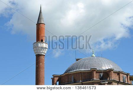 Banya Bashi Mosque Minuet in Sofia, Bulgaria