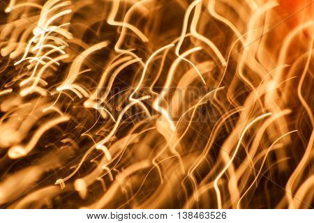 Abstract Gold line Design black  Background