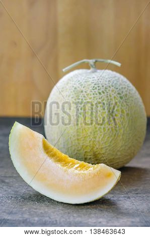 Ripe Melon Fruit