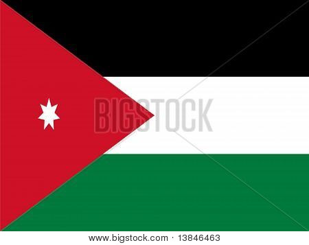 Jordan National Flag