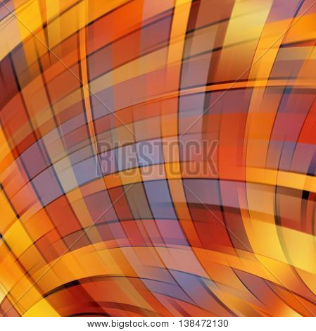 Abstract Technology Background Vector Wallpaper. Stock Vectors Illustration. Yellow, Orange, Brown C