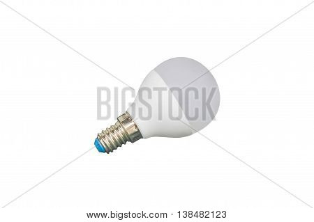 image of energy saving light bulb isolated on white background