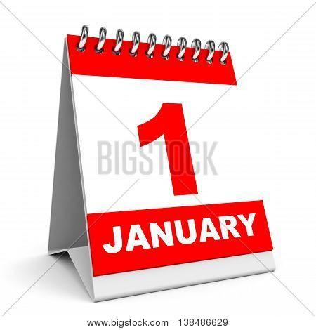 Calendar. 1 January.