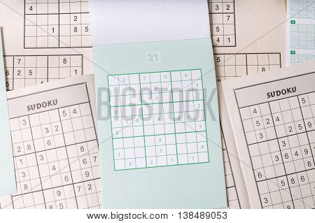 Sudoku Crosswords, Logic Puzzle Game With Numbers.