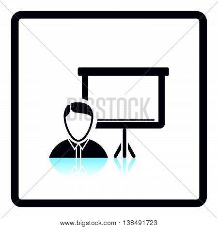 Coach Businessman Icon