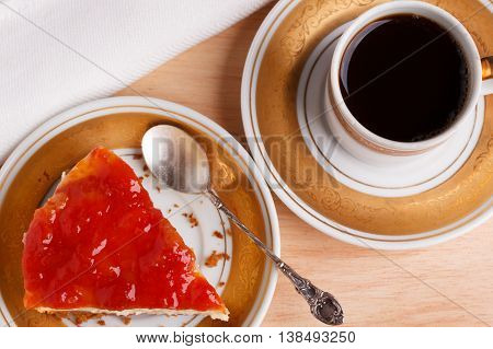 Cheesecake With Brazilian Goiabada Jam Of Guava
