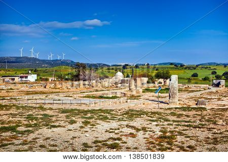Basilica of Panagia Limeniotissa is a ruined basilica in Paphos Archaeological Park, Cyprus