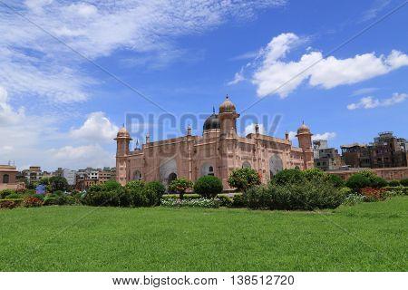 Mausoleum of Bibipari in Lalbagh fort in Dhaka