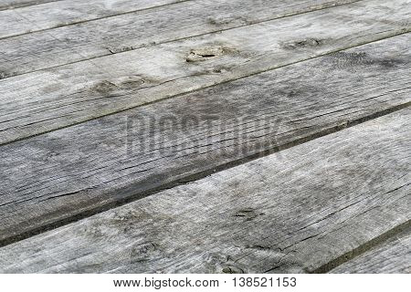 Weathered wooden planks in Voorschoten in The Netherlands.