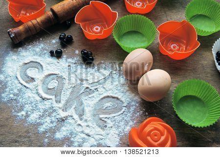Ingredient For Baking Cupcakes