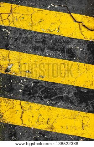 Striped black and yellow background. It can be used as a poster background design t-shirts. Fully editable.