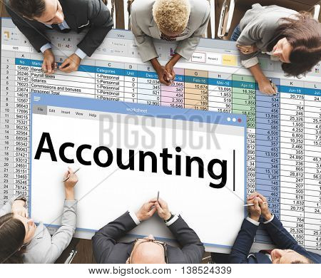 Accounting Business Banking Bookkeeping Data Concept