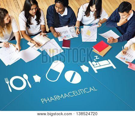 Pharmaceutical Medical Health Proper Care Concept