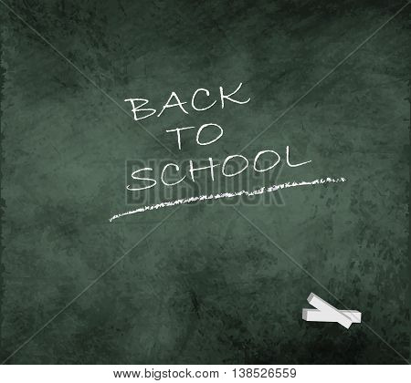 blackboard chalkboard grunge back to school smudge green vector