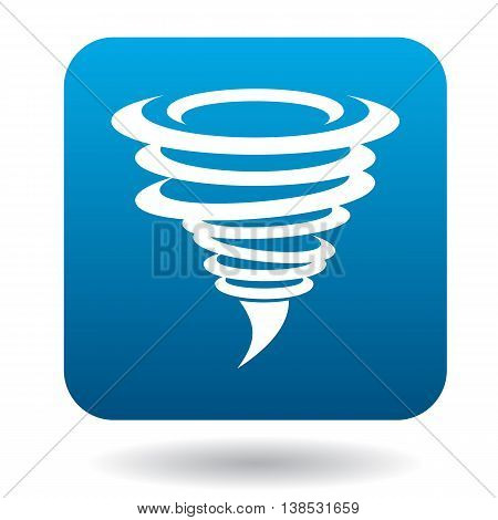 Hurricane icon in simple style on a white background