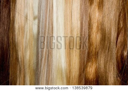 Brown False Hair