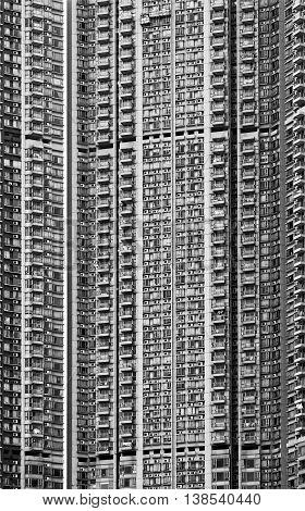 China Hong Kong Kowloon High Rise Flats