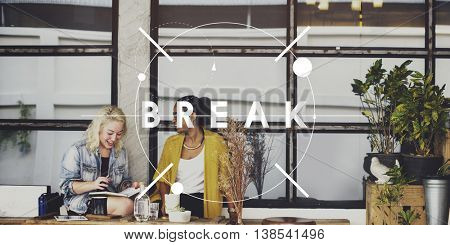 Break Relax Pause Relief Free Time Concept