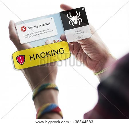 People Hacking Connection Communication