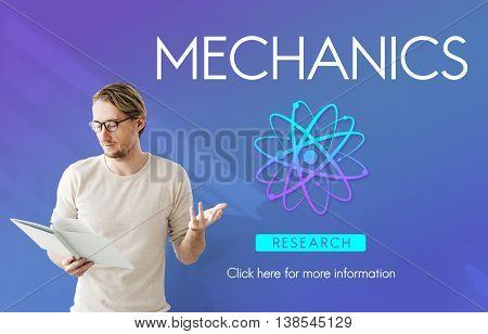 Mechanics Engine Automobile Maintence Tuning Concept