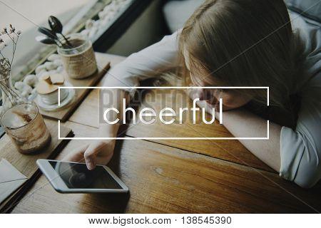 Cheerful Chill Chillout Aspire Break Time Concept