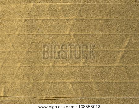 Brown Corrugated Cardboard Background Sepia