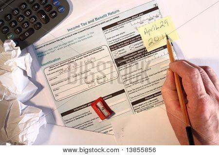 2010 Income Tax Form deadline