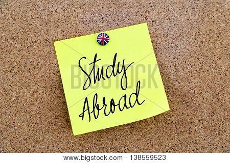 Written Text Study Abroad