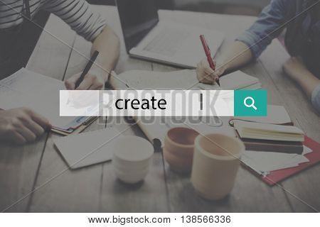 Creation Create Ideas Creativity Imagination Invention Concept
