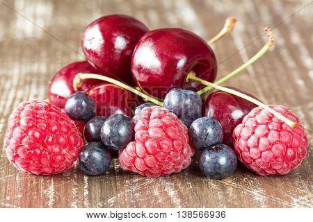 Close-up  Of Summer Berries