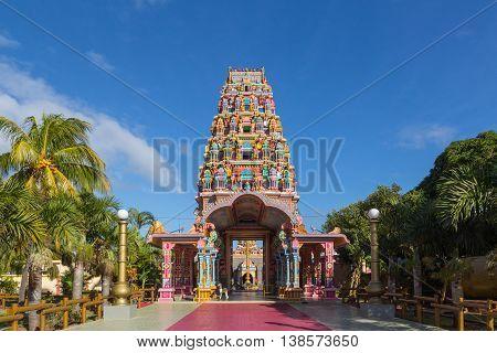 Kalaisson Temple Port Louis Mauritius background pichture