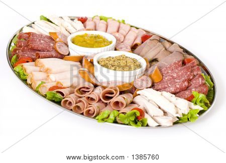 Cold Meat Catering Platter