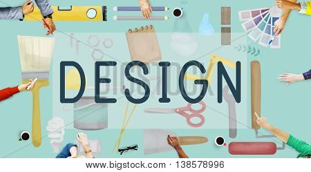 Design Creative Draft Drawing Model Objective Concept