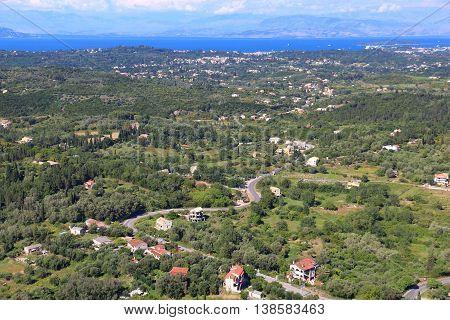 Corfu Island Landscape