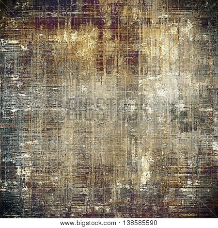 Abstract grunge background or aged texture. Old school backdrop with vintage feeling and different color patterns: yellow (beige); brown; gray; black; purple (violet)