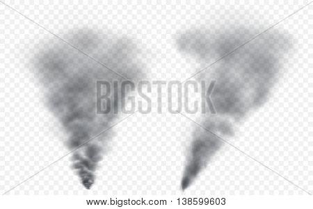 Translucent Gray Smoke