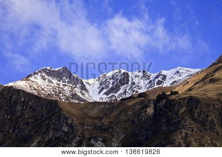 South Island Landscape, New Zealand