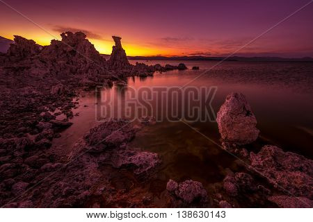 Mono Lake After Sunset