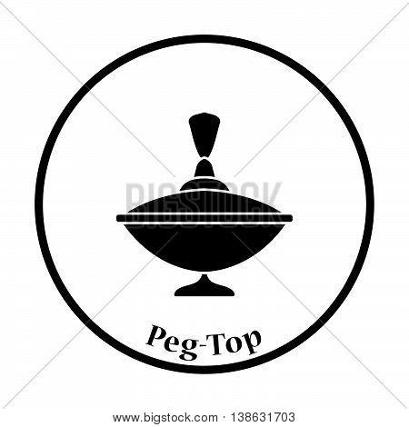 Peg-top Icon