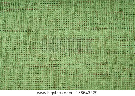 Green fabric texture background Green fabric texture background