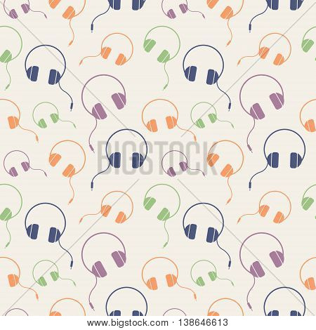 Seamless Music Vector Pattern